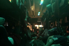 22h bus journey to Luang Prabang