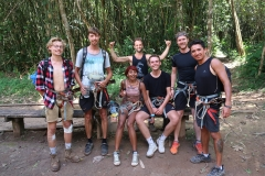 the Gibbon Experience crew